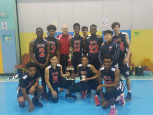 Boys Baskeball Win Tournament!